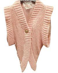 Chanel Pink Viscose Knitwear