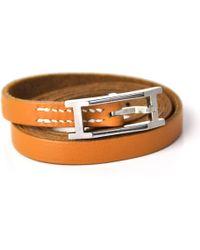 Lyst - Ceinture Moschino pour homme en coloris Orange cbf0ced75b7