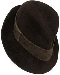 Loro Piana Brown Cashmere Hats