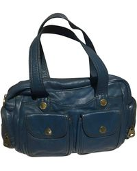 Marc By Marc Jacobs Classic Q Leather Handbag - Blue