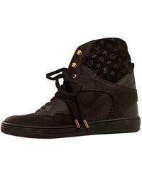 Louis Vuitton Baskets en Cuir Noir