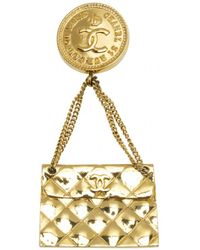 Chanel - Timeless Cambon Brooch - Lyst