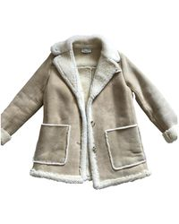 Sandro Coat - Natural