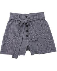 Maje Shorts in Poliestere Multicolore