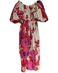 Dries Van Noten Mid-length Dress - Red