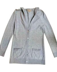 Michael Kors Gray Cashmere Knitwear