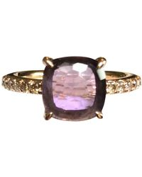 Pomellato Baby Purple Pink Gold Ring