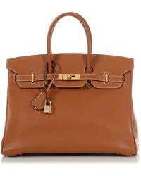 Hermès Birkin 30 Leder Handtaschen - Braun