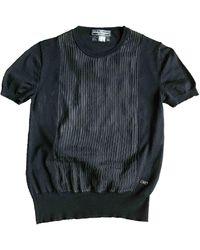 Ferragamo Wool Blouse - Black