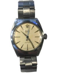 Rolex Oyster Perpetual 34mm Watch - Natural