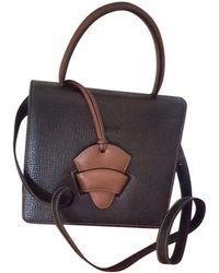 Loewe - Barcelona Leather Handbag - Lyst