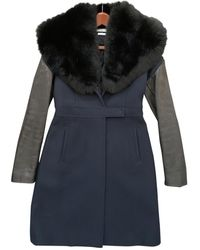 Givenchy Wool Coat - Multicolor