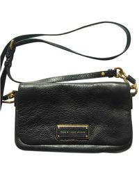 Marc By Marc Jacobs Too Hot To Handle Leather Crossbody Bag - Black