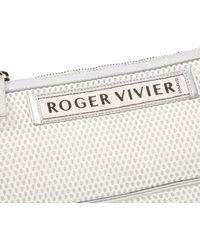 Roger Vivier Leather Handbag - Metallic