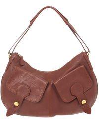 Tod's - Brown Leather Handbag - Lyst