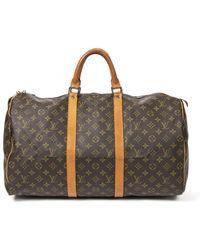 Louis Vuitton Borsa da viaggio - Marrone