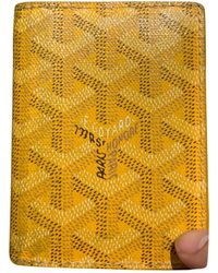 Goyard Saint Pierre Cloth Small Bag - Yellow