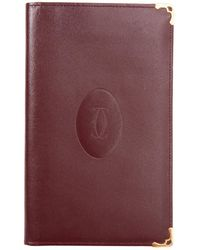 Cartier - Leather Card Wallet - Lyst