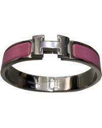 Hermès Bracelet Clic H - Rose