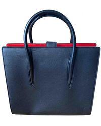 Christian Louboutin Paloma Leather Handbag - Black