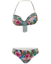 Blumarine \n Multicolour Polyester Swimwear
