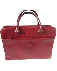 Cartier Leather Satchel - Red