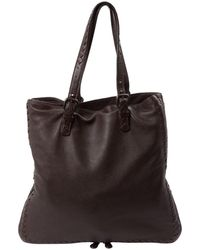 Bottega Veneta - Brown Leather Handbag - Lyst