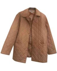 Ferragamo Silk Coat - Natural