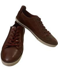 Louis Vuitton Match Up Leder Sneakers - Braun