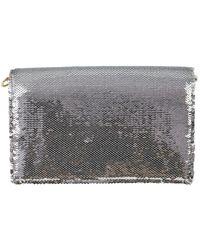 Diane von Furstenberg \n White Leather Handbag
