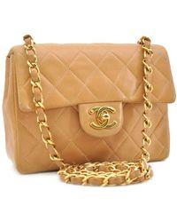 Chanel - Timeless/classique Leder Handtaschen - Lyst