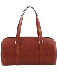 5da427b81599 Louis Vuitton Leather Handbag in White - Lyst