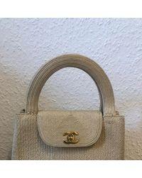 Chanel Baguette Tasche - Natur