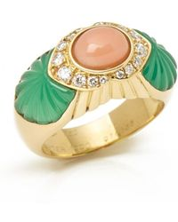 Cartier - Vintage Yellow Yellow Gold Ring - Lyst