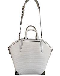Alexander Wang Emile Leather Handbag - White