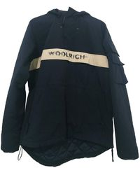 Woolrich Mantel en Polyester Noir