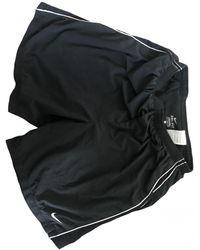 Nike Shorts Synthetik Schwarz