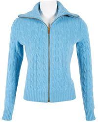 Ralph Lauren Collection Blue Cashmere