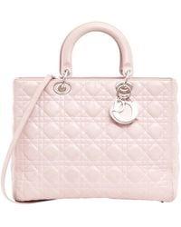 Dior Umhängetasche aus Leder - Pink