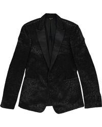 Roberto Cavalli - Black Wool Jacket - Lyst