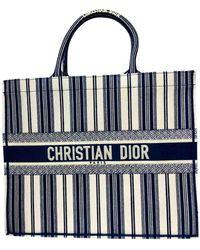 Dior Book Tote Shopper - Blau