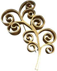 Givenchy Spilla in metallo dorato - Multicolore