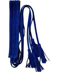 Maje Belt - Blue