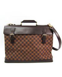 Louis Vuitton West End Cloth 24h Bag - Brown