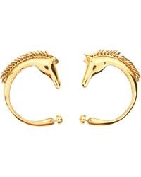Chloé - Gold Metal Earrings - Lyst