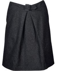 Chanel - Wool Mid-length Skirt - Lyst