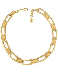 Givenchy - Pre-owned Vintage Gold Metal Necklaces - Lyst