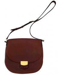 Celine Trotteur Leather Crossbody Bag - Multicolour