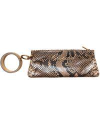 Chopard Python Clutch Bag - Natural