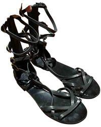 Chanel Leather Sandal - Black